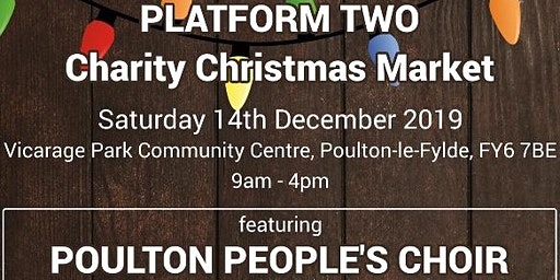 "Platform Two                   ""Charity Christmas Market"""