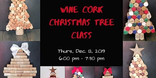 Wine Cork Christmas Tree Class