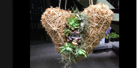 Love heart Kokedama workshop tickets