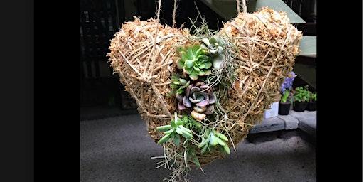 Love heart Kokedama workshop
