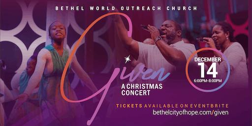 Given: A Christmas Concert