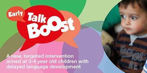 Early Talk Boost Training