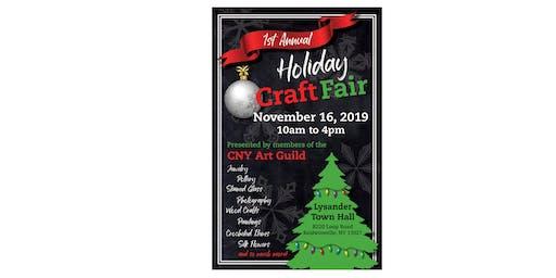 1st Annual CNY Art Guild Holiday Craft Fair