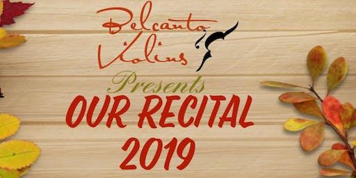 Our Recital 2019