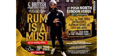 Rum Is A Must  tickets
