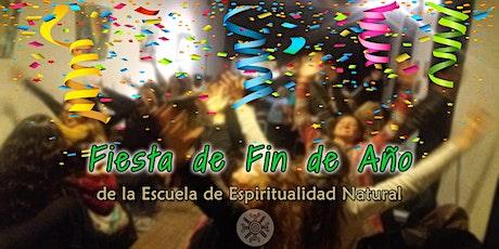 Fiesta de Fin de Año de la Escuela de Espiritualidad Natural entradas