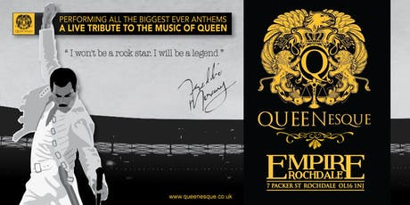 QUEENesque - A live tribute to the music of Queen tickets