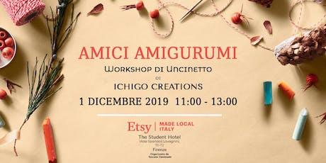 Amici Amigurumi - Workshop di uncinetto di Ichigo Creations biglietti
