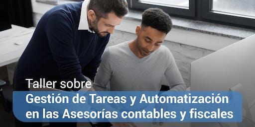Taller de gestión de tareas y automatización en las asesorías contables