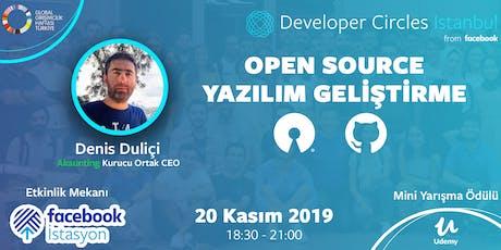 Open Source Yazılım Geliştirme - Akaunting Kurucu Ortağı Denis Duliçi tickets