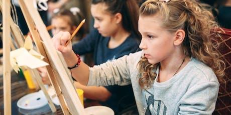 Teken- en schilderles jeugd tickets