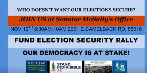 Election Security Rally in Phoenix