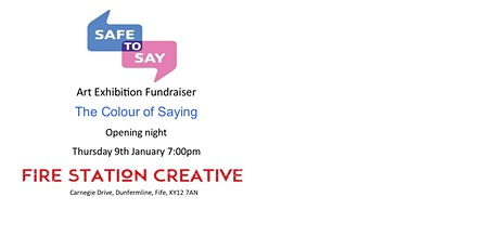 COLOUR OF SAYING ART EXHIBITION FUNDRAISER tickets