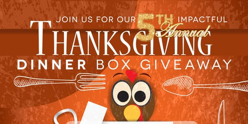 5th Annual Thanksgiving Dinner Box Giveaway
