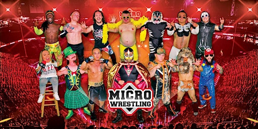 All-New 18 & Up Micro Wrestling at Dillinger's!