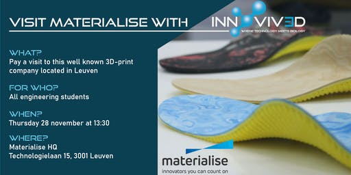Visit Materialise with Innovived