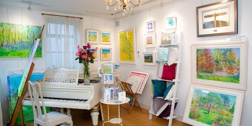 Inspiring, Beginners Acrylic Painting Course with Anita Bowerman, Harrogate