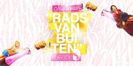 ♡ RADS Vanbuiten ♡ Nieuwjaar! tickets