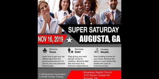 Augusta Super Saturday
