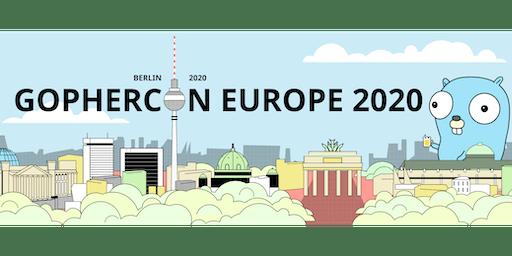 GopherCon Europe 2020 - Berlin
