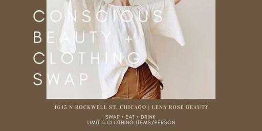 Conscious Beauty + Clothing Swap