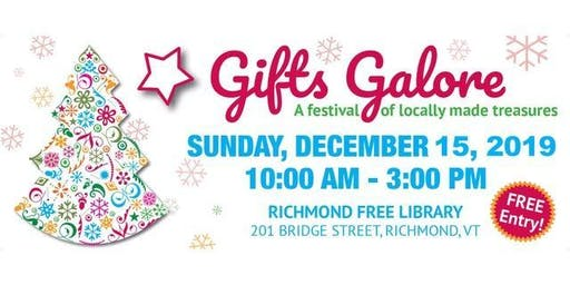 Gifts Galore:  A Festival of Locally Made Treasures