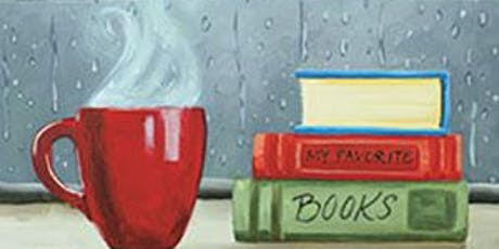 Coffee and Canvas At Steam Bee Goods Company In Oroville: For The Love Of Books tickets