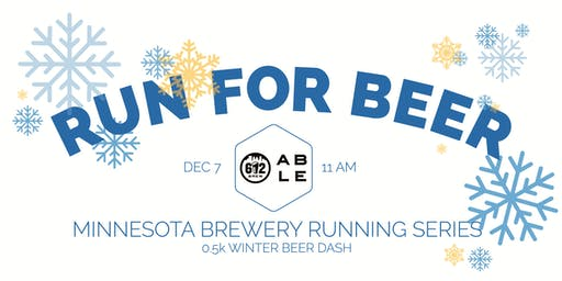 Beer Run - 0.5k Winter Beer Dash - Part of the 2019 MN Brewery Running Series