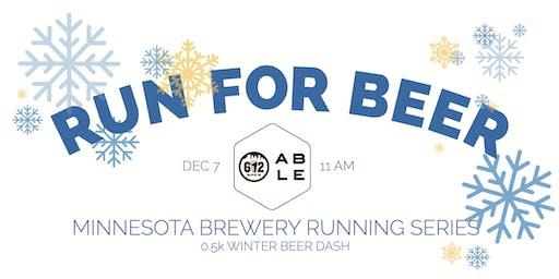 Beer Run - 0.5k Winter Beer Dash - Part of the 2019 MN Brewery Running Series