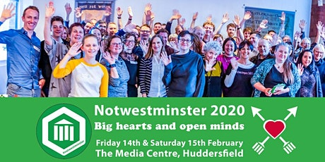 Notwestminster 2020 - main event tickets