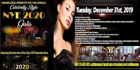 "15th Annual ""Celebrity Style"" New Year's Eve Fireworks Gala tickets"