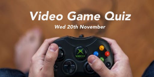The Big Video Games Table Quiz