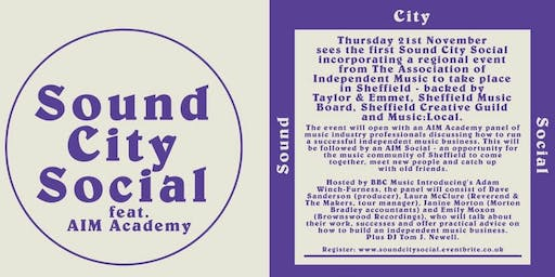 Sound City Social feat. AIM Academy - Sheffield