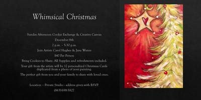 Whimsical Christmas; Creative Canvas
