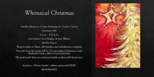 Whimsical Christmas; Creative Canvas
