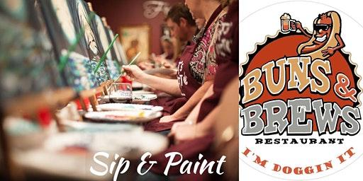 Holiday Edition Sip and Paint