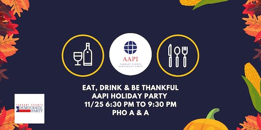 AAPI Meeting: Holiday Party