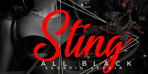 STING ALL BLACK SCORPIO AFFAIR !!!