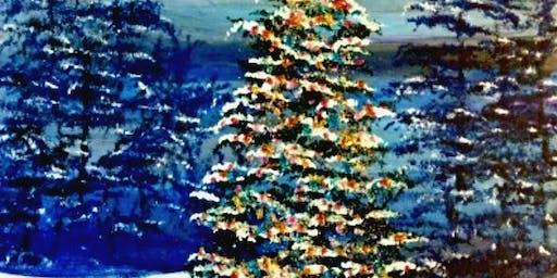 Paint Wine Denver O' Christmas Tree Sun Dec 8th 5:30pm $25
