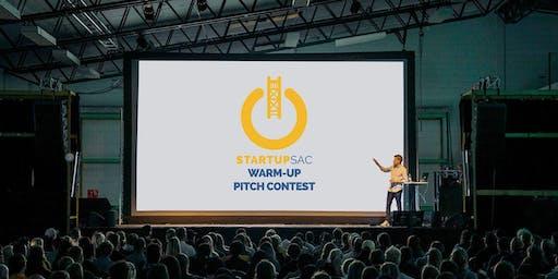 StartupSac Warm-Up Pitch All Stars