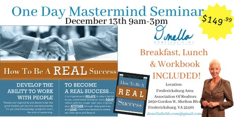 How To Be A REAL Success Seminar tickets