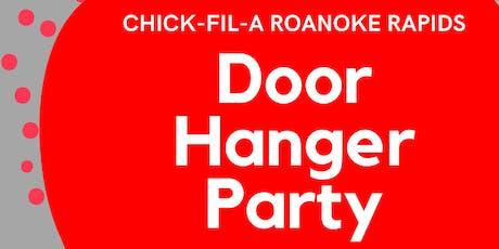 Christmas Door Hanger Party tickets