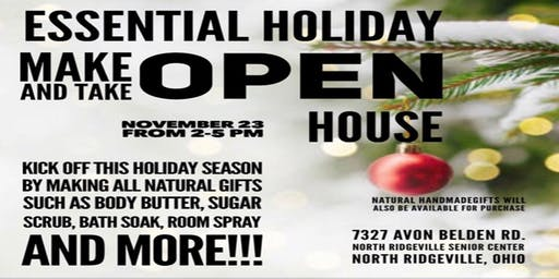Essential Holiday Make and Take Open House