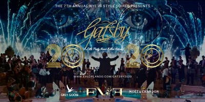 Gatsby 2020 New Year's Eve @ EVE Orlando Downtown