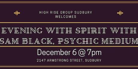An Evening with Spirit with Sam Black Psychic Medium tickets
