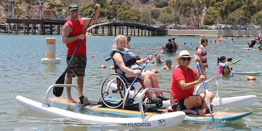 Adaptive Freedom Foundation Santa Paddle