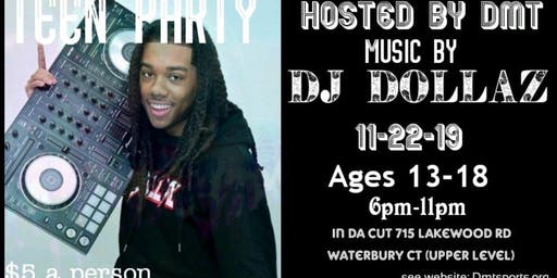 The BIGGEST TEEN Party in CT....Hosted by DMT