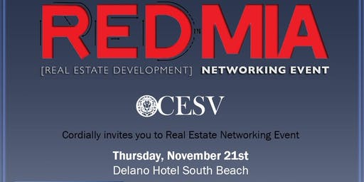 REDInMIA Real Estate Networking Event