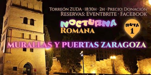 Ruta 1 · Murallas y Puertas ROMANAS Zaragoza