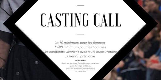 Casting défilé - IPAG'Mod For Charity